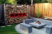 Фото 11 Поленница для дров: виды конструкций и 70 практичных вариантов для частного дома