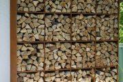 Фото 16 Поленница для дров: виды конструкций и 70 практичных вариантов для частного дома