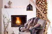Фото 25 Поленница для дров: виды конструкций и 70 практичных вариантов для частного дома