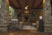 Фото 27 Поленница для дров: виды конструкций и 70 практичных вариантов для частного дома