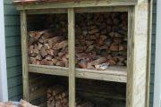 Фото 30 Поленница для дров: виды конструкций и 70 практичных вариантов для частного дома