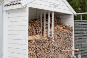 Фото 31 Поленница для дров: виды конструкций и 70 практичных вариантов для частного дома
