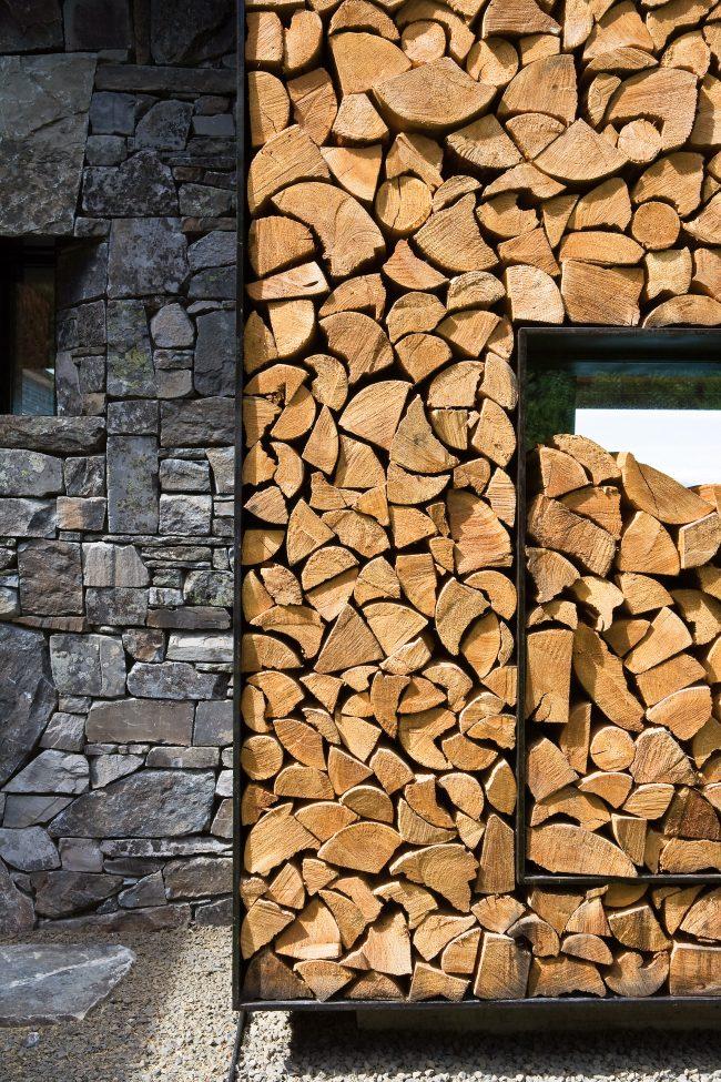 Не поленитесь и не пожалейте немного времени для качественной укладки дров в поленницу