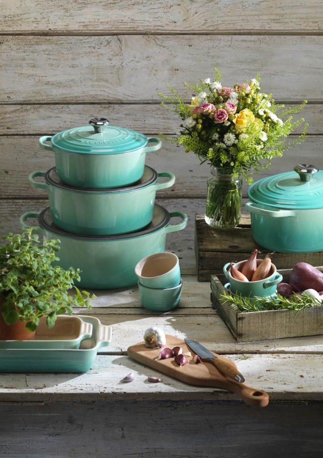 Современная эмалированная посуда для индукционной плиты