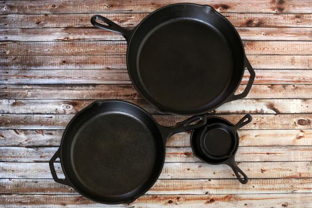 Чугунная посуда с эмалевым покрытием прослужит дольше