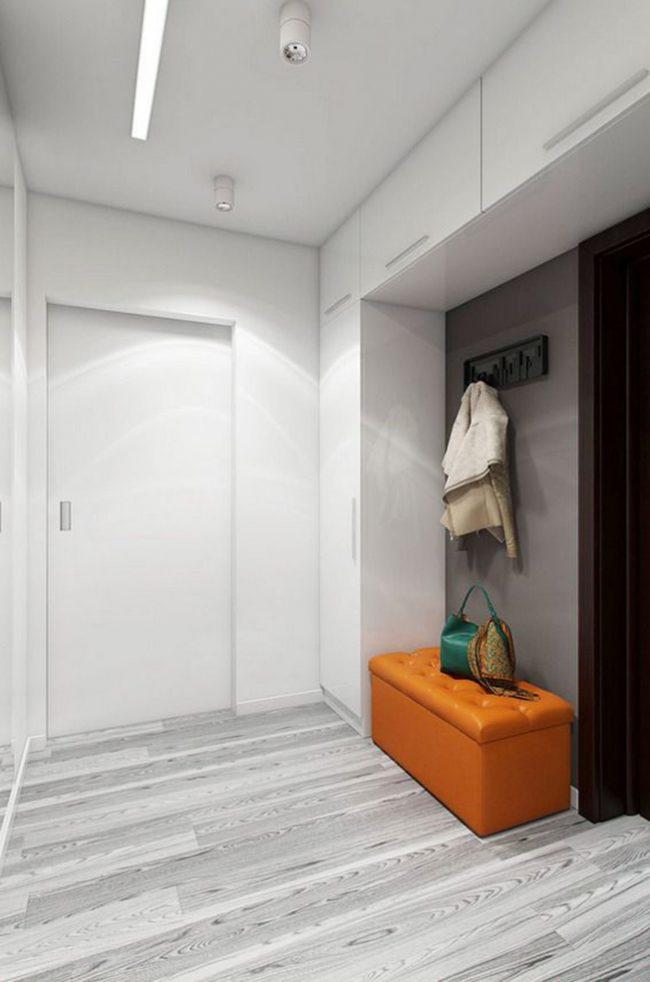 Яркие элементы создают особую атмосферу в помещении