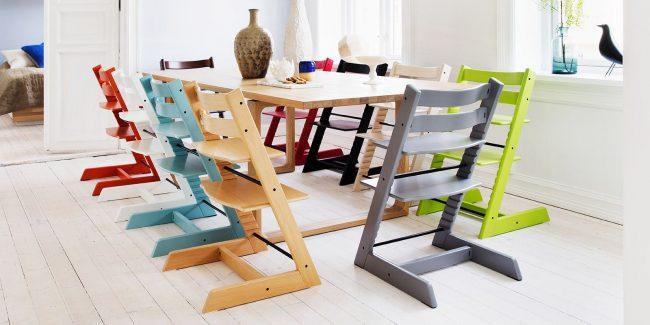 Растущий стул для ребенка - универсальная мебель для любой возрастной группы