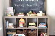 Фото 29 Шкафы для игрушек в детскую комнату: 90 ярких и практичных решений для вашего малыша