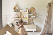Фото 15 Шкафы для игрушек в детскую комнату: 90 ярких и практичных решений для вашего малыша