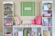 Фото 45 Шкафы для игрушек в детскую комнату: 90 ярких и практичных решений для вашего малыша