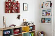 Фото 46 Шкафы для игрушек в детскую комнату: 90 ярких и практичных решений для вашего малыша