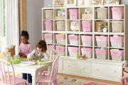 Фото 48 Шкафы для игрушек в детскую комнату: 90 ярких и практичных решений для вашего малыша