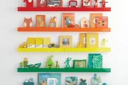 Фото 55 Шкафы для игрушек в детскую комнату: 90 ярких и практичных решений для вашего малыша