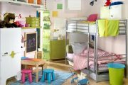 Фото 64 Шкафы для игрушек в детскую комнату: 90 ярких и практичных решений для вашего малыша