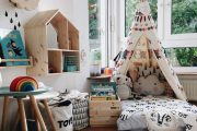 Фото 66 Шкафы для игрушек в детскую комнату: 90 ярких и практичных решений для вашего малыша