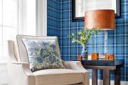 Фото 1 Синие обои в интерьере: 85 фотоидей для аристократического окружения