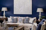 Фото 2 Синие обои в интерьере: 85 фотоидей для аристократического окружения