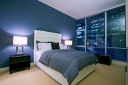 Фото 9 Синие обои в интерьере: 85 фотоидей для аристократического окружения