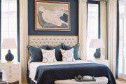 Фото 22 Синие обои в интерьере: 85 фотоидей для аристократического окружения