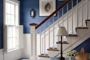 Фото 26 Синие обои в интерьере: 85 фотоидей для аристократического окружения