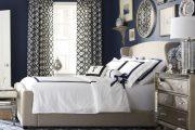 Фото 4 Синие обои в интерьере: 85 фотоидей для аристократического окружения
