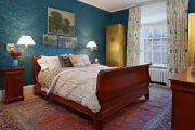 Фото 37 Синие обои в интерьере: 85 фотоидей для аристократического окружения