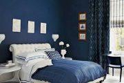 Фото 5 Синие обои в интерьере: 85 фотоидей для аристократического окружения