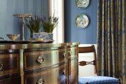 Фото 49 Синие обои в интерьере: 85 фотоидей для аристократического окружения