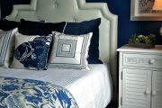 Фото 52 Синие обои в интерьере: 85 фотоидей для аристократического окружения