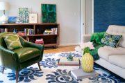 Фото 62 Синие обои в интерьере: 85 фотоидей для аристократического окружения