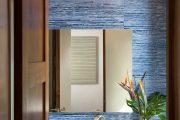 Фото 66 Синие обои в интерьере: 85 фотоидей для аристократического окружения