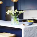 Синие кухни: создаем современный и аристократичный интерьер в холодной цветовой гамме фото