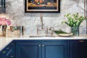 Фото 5 Синие кухни: создаем современный и аристократичный интерьер в холодной цветовой гамме