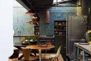 Фото 10 Синие кухни (100 идей): создаем современный и аристократичный интерьер в холодной цветовой гамме