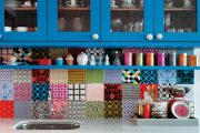 Фото 11 Синие кухни (100 идей): создаем современный и аристократичный интерьер в холодной цветовой гамме