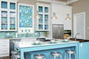 Фото 13 Синие кухни: создаем современный и аристократичный интерьер в холодной цветовой гамме