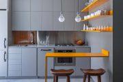 Фото 14 Синие кухни: создаем современный и аристократичный интерьер в холодной цветовой гамме