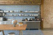 Фото 15 Синие кухни (100 идей): создаем современный и аристократичный интерьер в холодной цветовой гамме