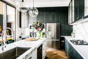 Фото 17 Синие кухни (100 идей): создаем современный и аристократичный интерьер в холодной цветовой гамме