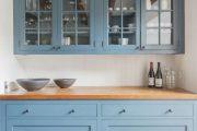 Фото 21 Синие кухни (100 идей): создаем современный и аристократичный интерьер в холодной цветовой гамме