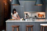 Фото 22 Синие кухни (100 идей): создаем современный и аристократичный интерьер в холодной цветовой гамме