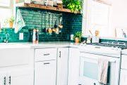 Фото 24 Синие кухни (100 идей): создаем современный и аристократичный интерьер в холодной цветовой гамме