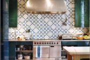 Фото 25 Синие кухни: создаем современный и аристократичный интерьер в холодной цветовой гамме