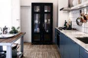 Фото 26 Синие кухни: создаем современный и аристократичный интерьер в холодной цветовой гамме