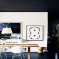Черный потолок в квартире: 80 нестандартных и стильных реализаций фото