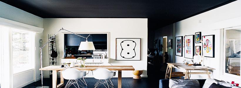 Черный потолок в квартире: 80 нестандартных и стильных реализаций
