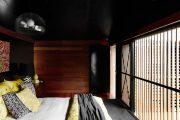 Фото 16 Черный потолок в квартире: 80 нестандартных и стильных реализаций