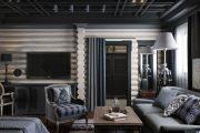 Фото 6 Черный потолок в квартире: 80 нестандартных и стильных реализаций