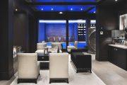 Фото 19 Черный потолок в квартире: 80 нестандартных и стильных реализаций