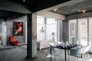 Фото 20 Черный потолок в квартире: 80 нестандартных и стильных реализаций